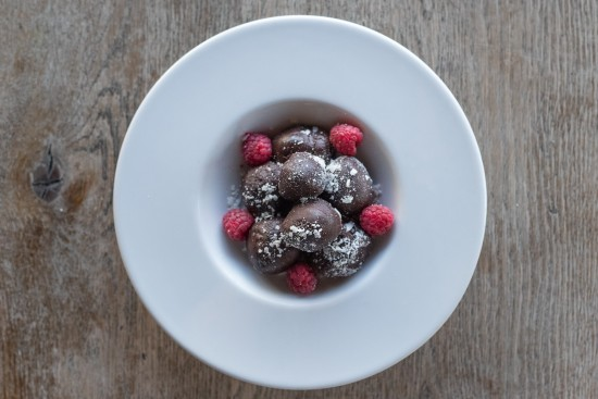 Coconut & Chocolate Protein Balls