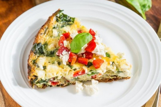 Egg, Vegetable & Feta Frittata